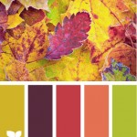 Weekend colour inspiration – autumnal influenced colour scheme