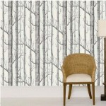 Wednesday walls – Silver Birch wallpaper from Cole and Sons