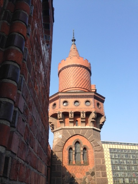 brick detailing tower