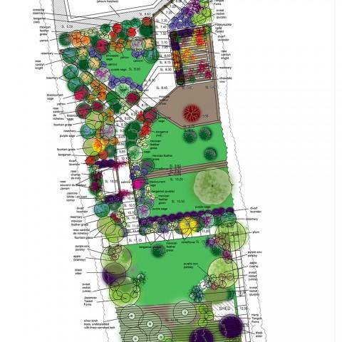 SK12 New Scheme planting plan
