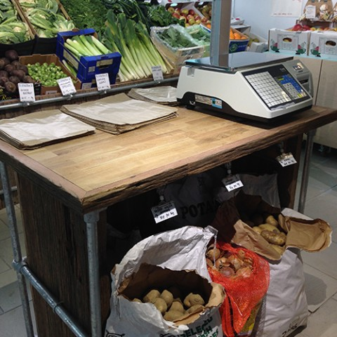 hiSbe produce display