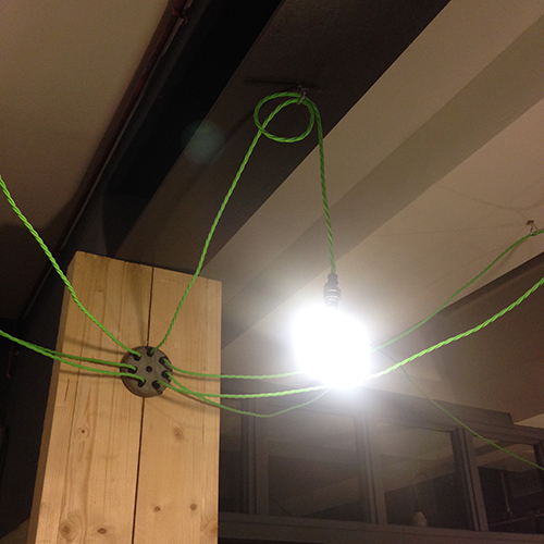 studio spider chandelier small