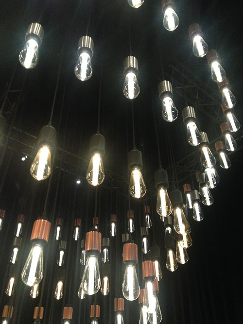 Buster and Punch chandelier